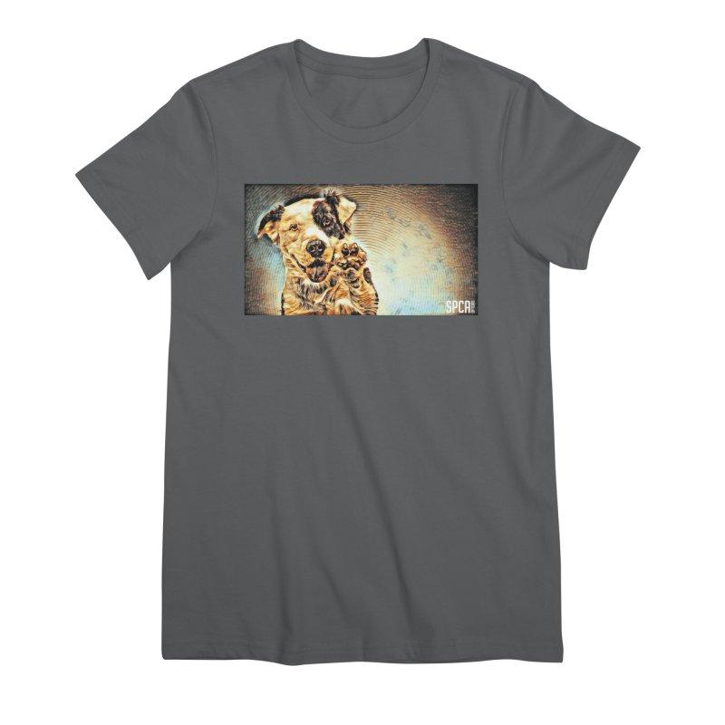 High Five Women's Premium T-Shirt by SPCA of Texas' Artist Shop