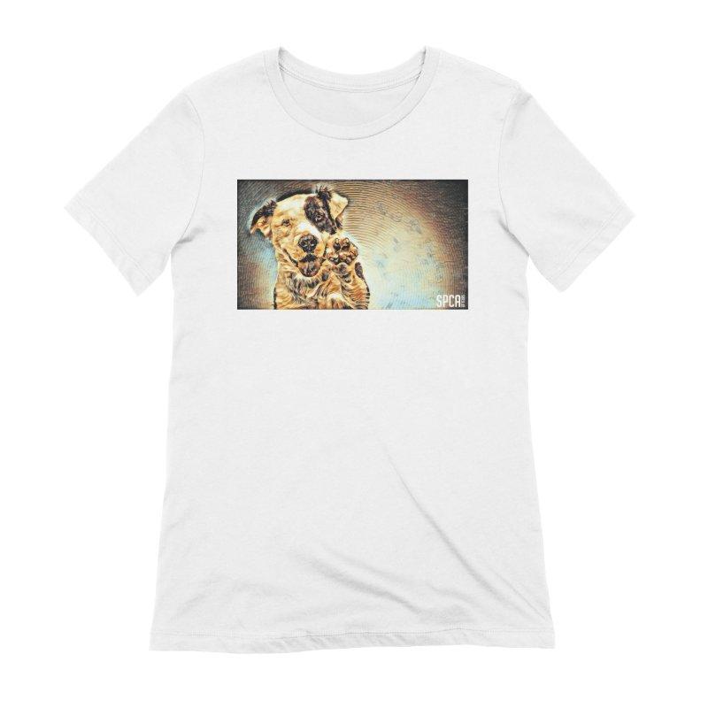High Five Women's Extra Soft T-Shirt by SPCA of Texas' Artist Shop