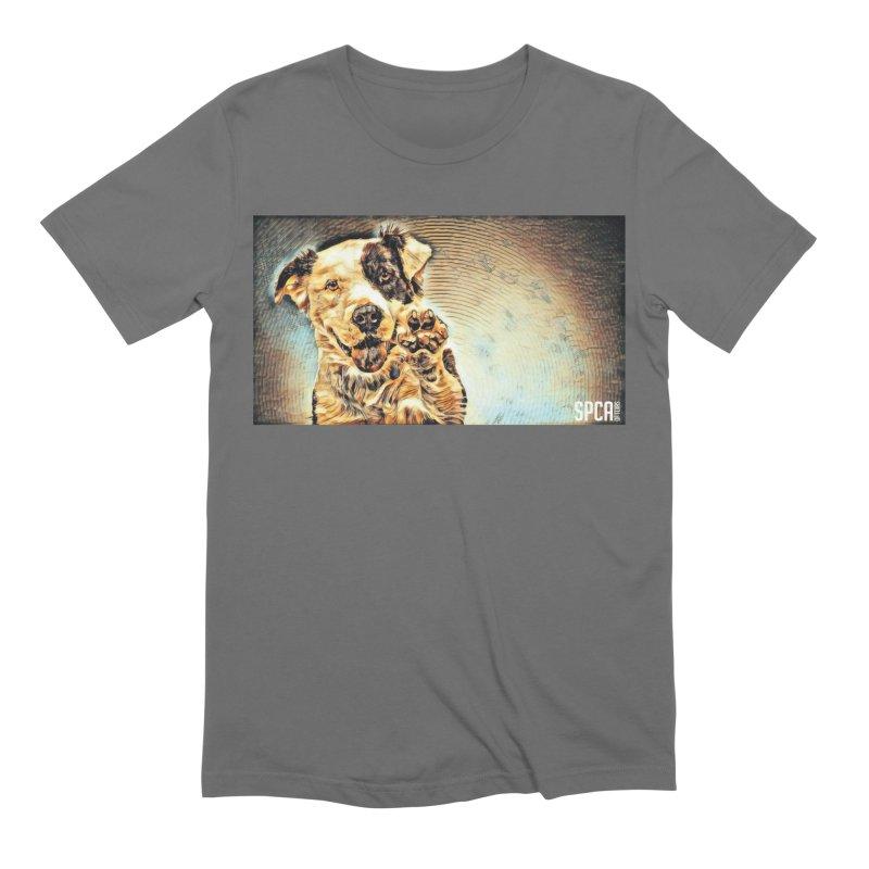 High Five Men's T-Shirt by SPCA of Texas' Artist Shop