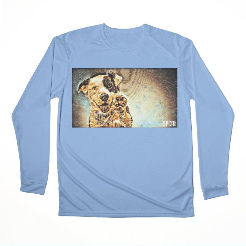 High Five Men's Longsleeve T-Shirt by SPCA of Texas' Artist Shop