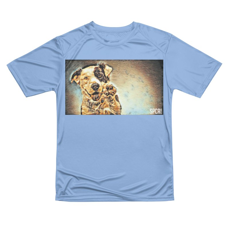 High Five Men's T-Shirt by SPCA of Texas' Artist Shop