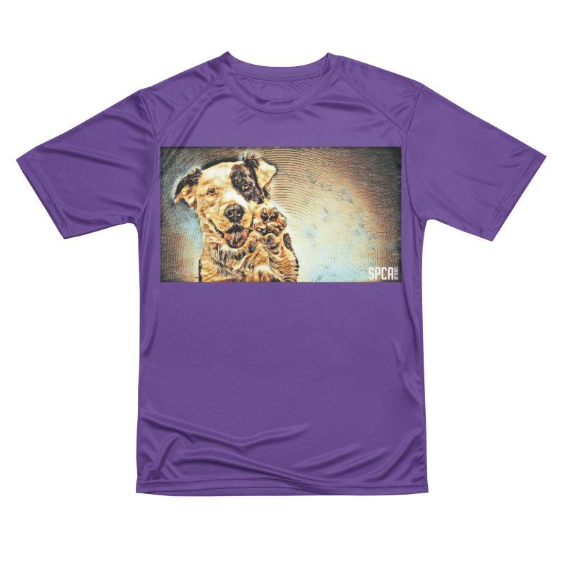 High Five Women's Performance Unisex T-Shirt by SPCA of Texas' Artist Shop