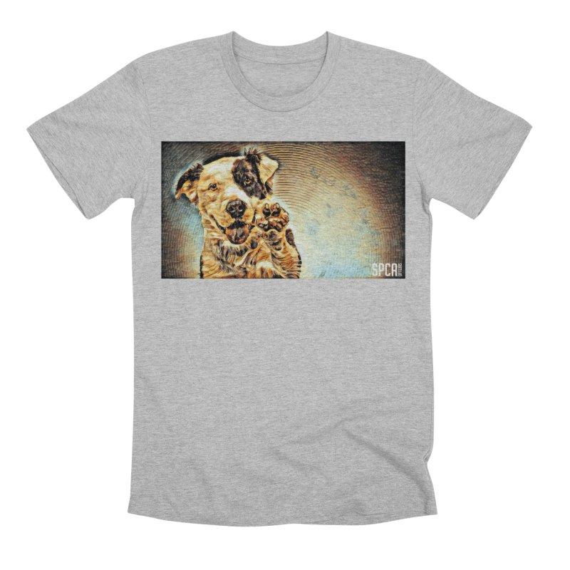 High Five Men's Premium T-Shirt by SPCA of Texas' Artist Shop