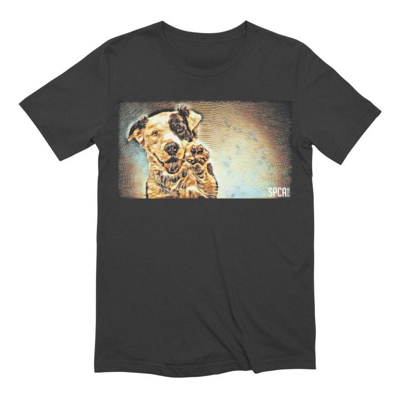High Five Men's Extra Soft T-Shirt by SPCA of Texas' Artist Shop