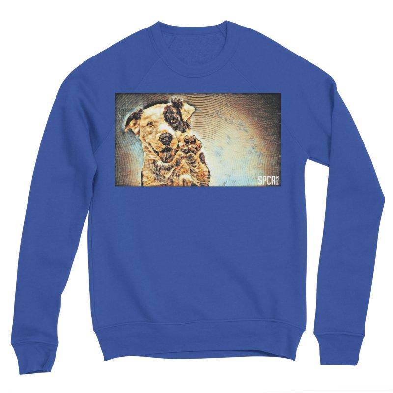 High Five Men's Sweatshirt by SPCA of Texas' Artist Shop