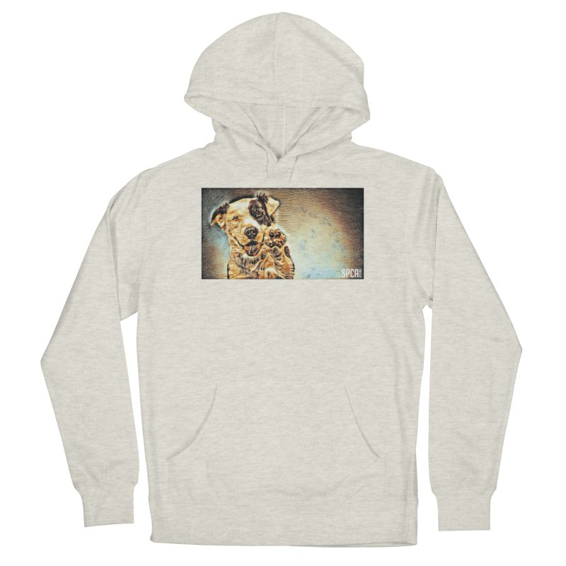 High Five Men's French Terry Pullover Hoody by SPCA of Texas' Artist Shop