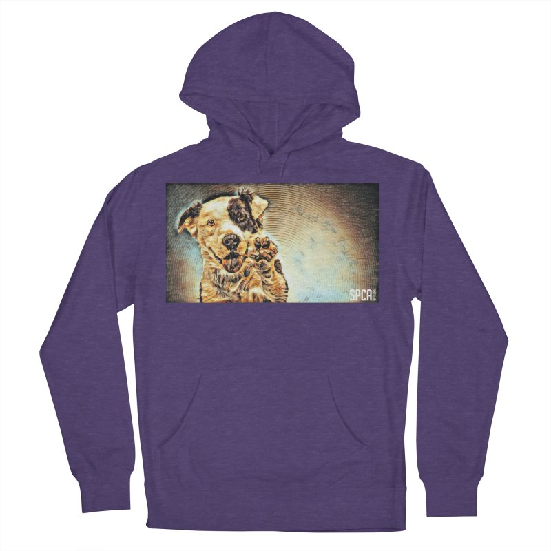 High Five Women's French Terry Pullover Hoody by SPCA of Texas' Artist Shop