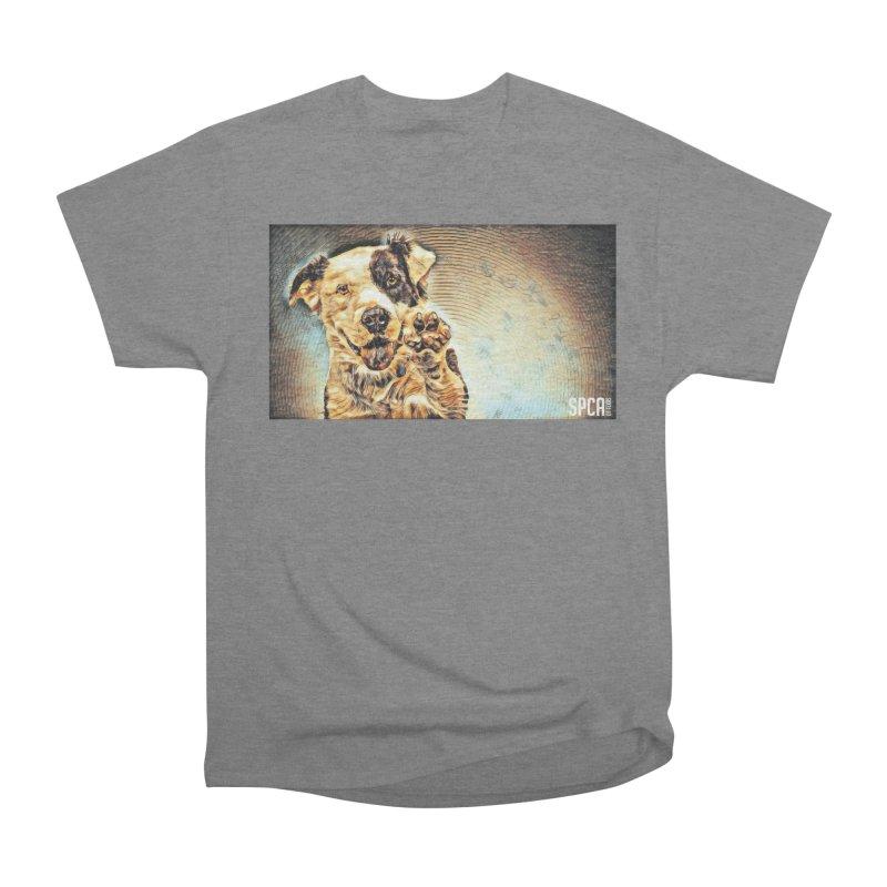High Five Women's Heavyweight Unisex T-Shirt by SPCA of Texas' Artist Shop