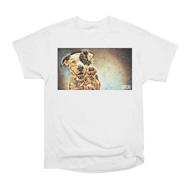 High Five Women's Heavyweight Unisex T-Shirt by SPCA of Texas' Artist Shop
