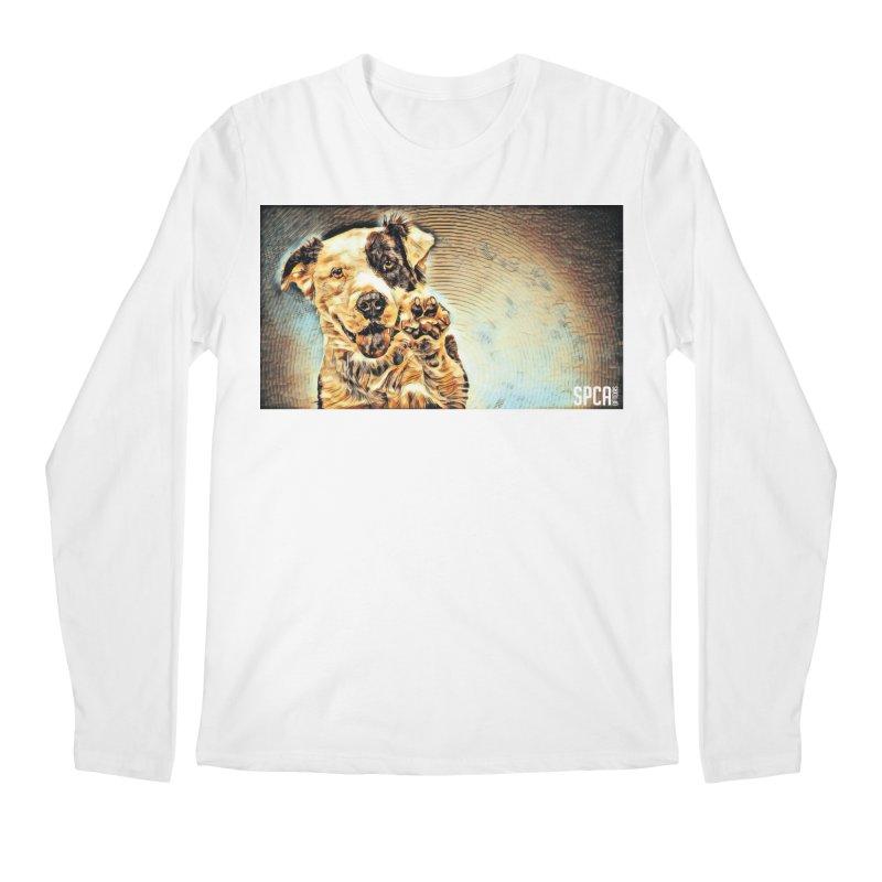 High Five Men's Regular Longsleeve T-Shirt by SPCA of Texas' Artist Shop