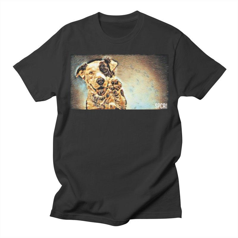 High Five Women's Regular Unisex T-Shirt by SPCA of Texas' Artist Shop