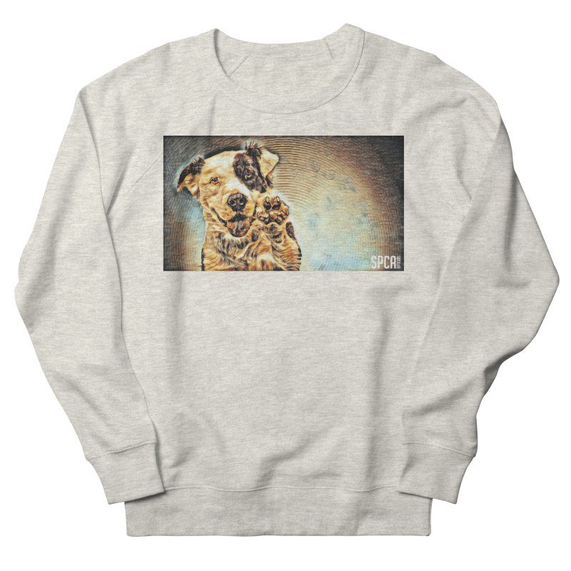High Five Women's French Terry Sweatshirt by SPCA of Texas' Artist Shop