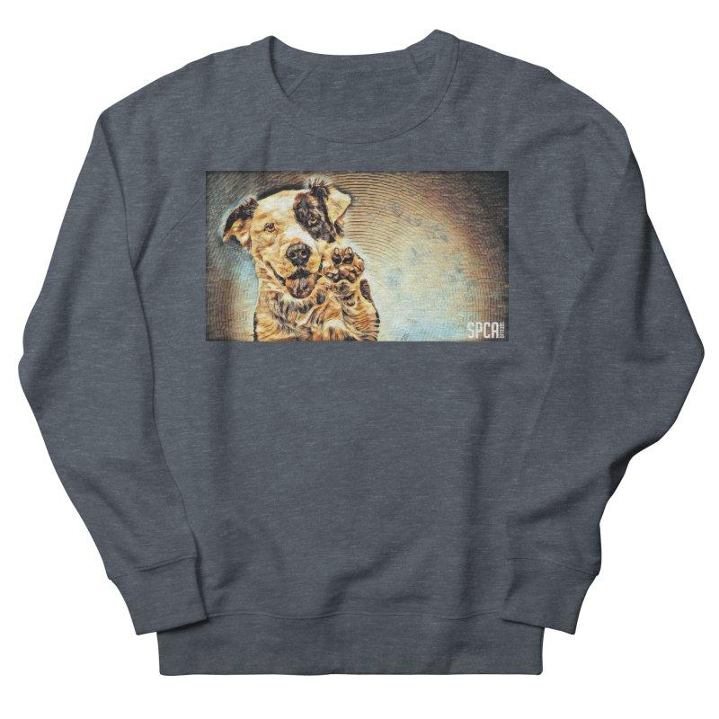 High Five Men's French Terry Sweatshirt by SPCA of Texas' Artist Shop