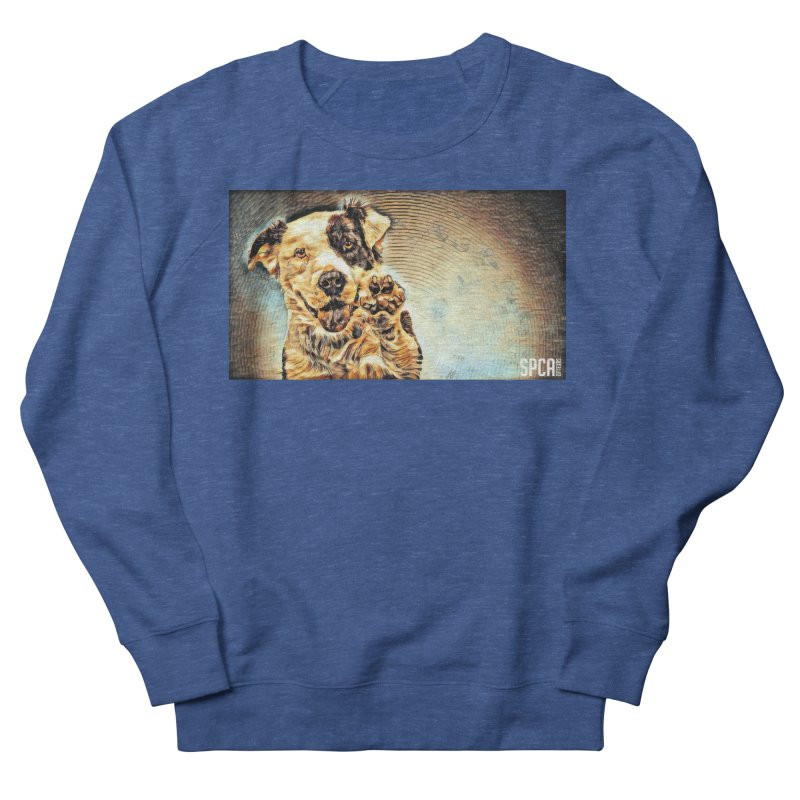 High Five Men's Sweatshirt by SPCA of Texas' Artist Shop