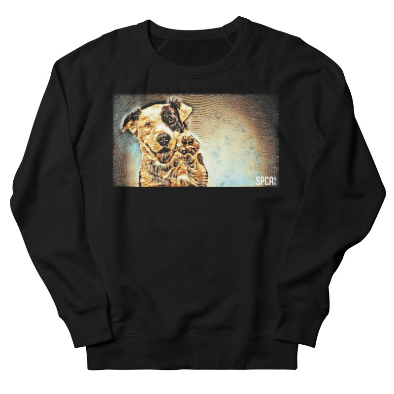 High Five Men's French Terry Sweatshirt by SPCA of Texas' Artist Shop