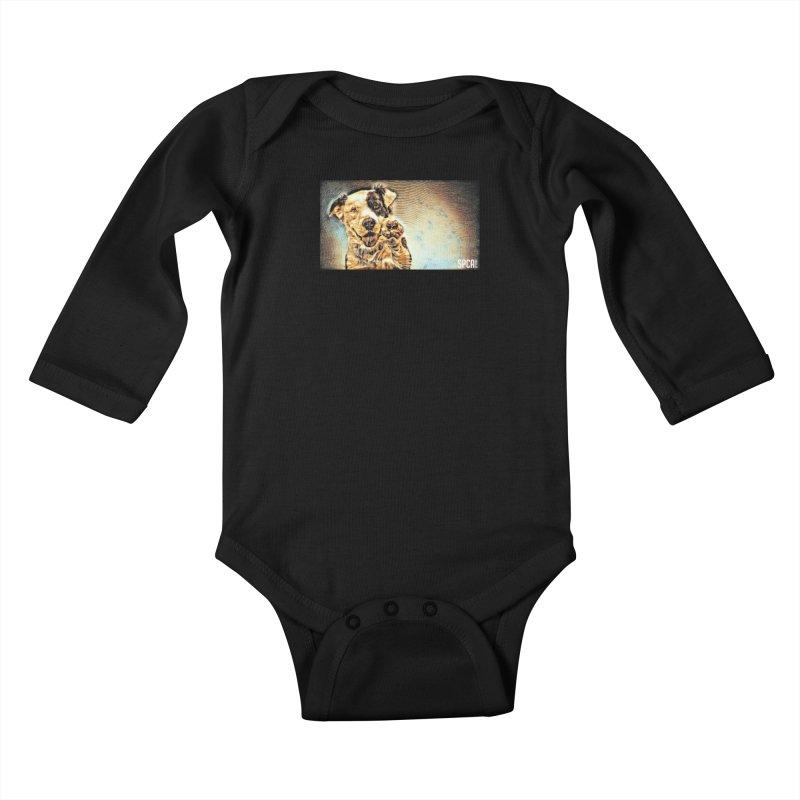 High Five Kids Baby Longsleeve Bodysuit by SPCA of Texas' Artist Shop