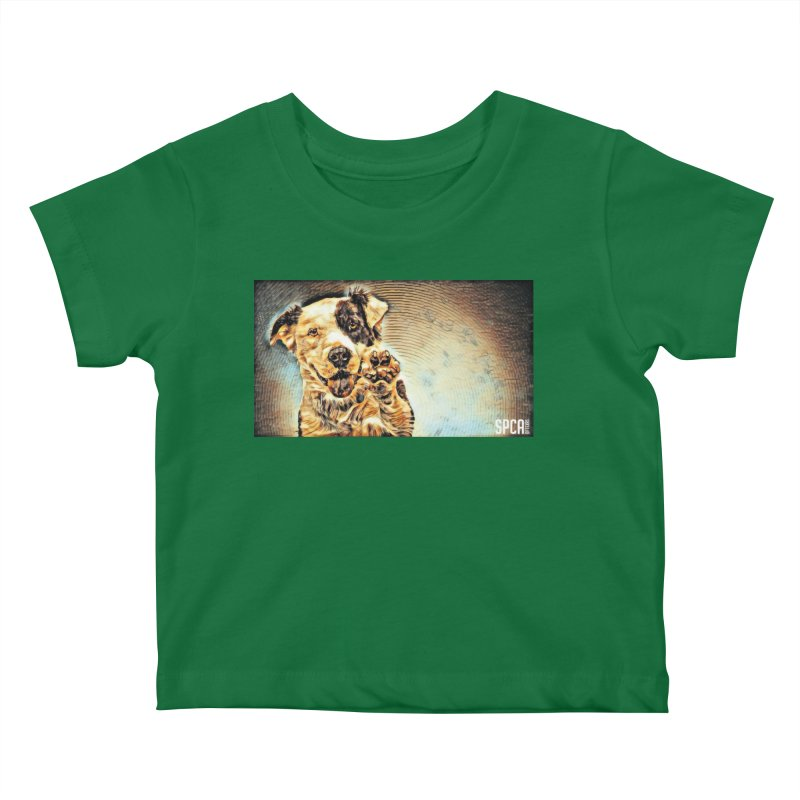 High Five Kids Baby T-Shirt by SPCA of Texas' Artist Shop