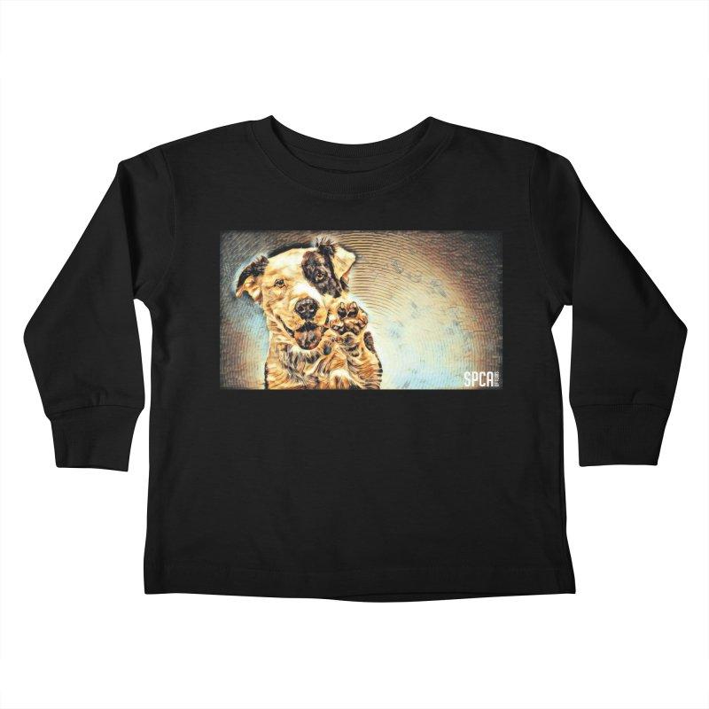 High Five Kids Toddler Longsleeve T-Shirt by SPCA of Texas' Artist Shop