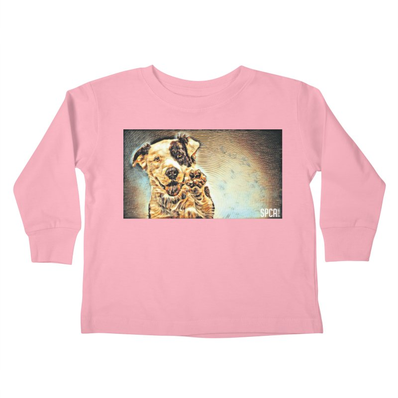 High Five Kids Toddler Longsleeve T-Shirt by SPCA of Texas' Artist Shop