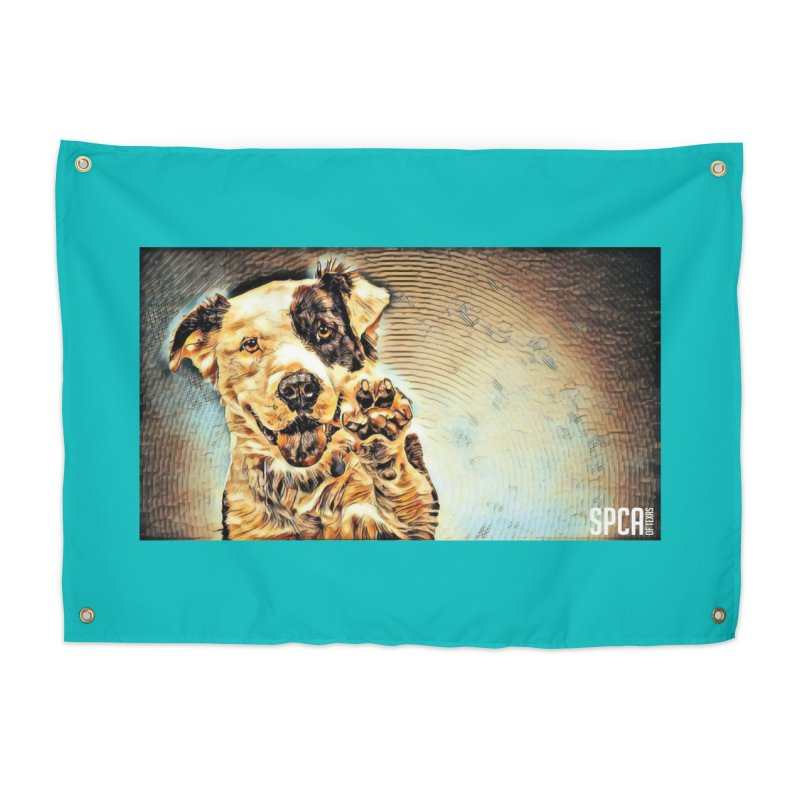 High Five Home Tapestry by SPCA of Texas' Artist Shop