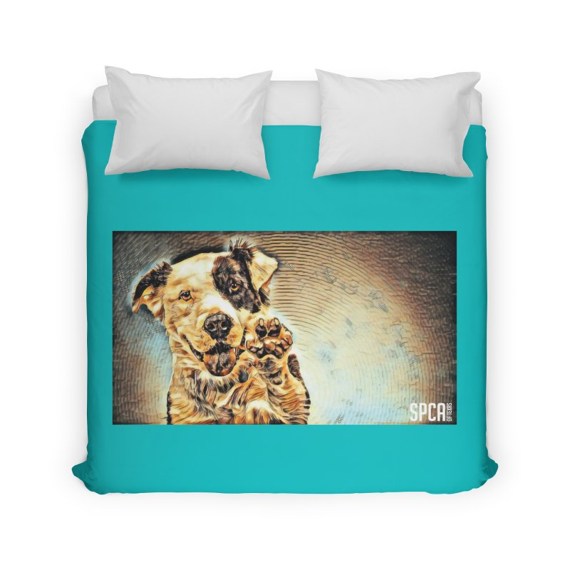 High Five Home Duvet by SPCA of Texas' Artist Shop