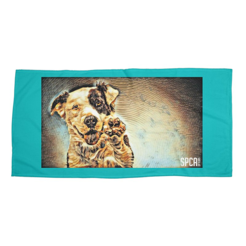High Five Accessories Beach Towel by SPCA of Texas' Artist Shop