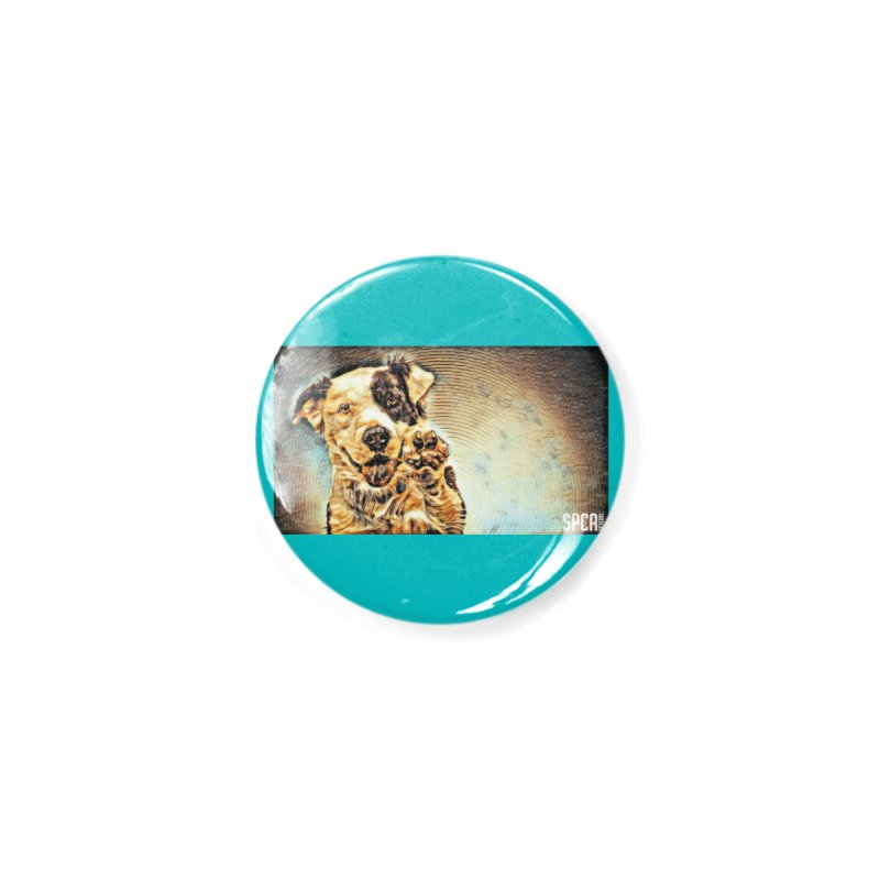 High Five Accessories Button by SPCA of Texas' Artist Shop