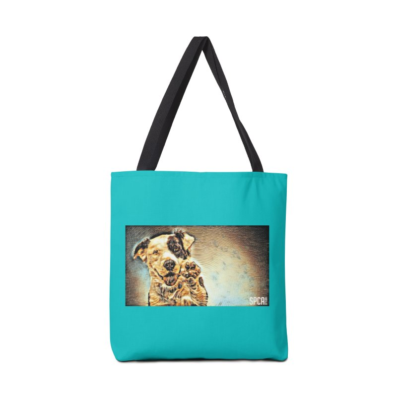 High Five Accessories Tote Bag Bag by SPCA of Texas' Artist Shop