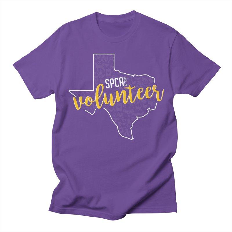Volunteers Rock! Men's T-Shirt by SPCA of Texas' Artist Shop