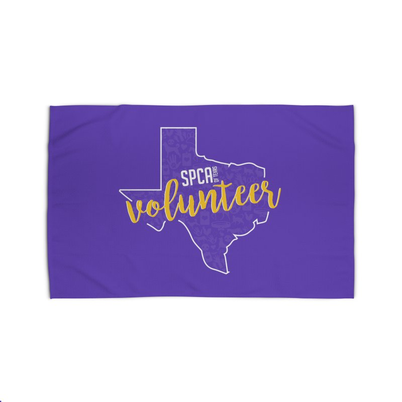 Volunteers Rock! Home Rug by SPCA of Texas' Artist Shop