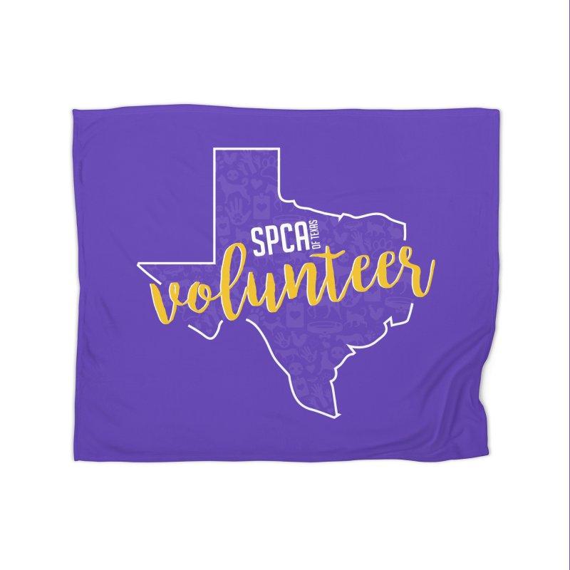 Volunteers Rock! Home Blanket by SPCA of Texas' Artist Shop