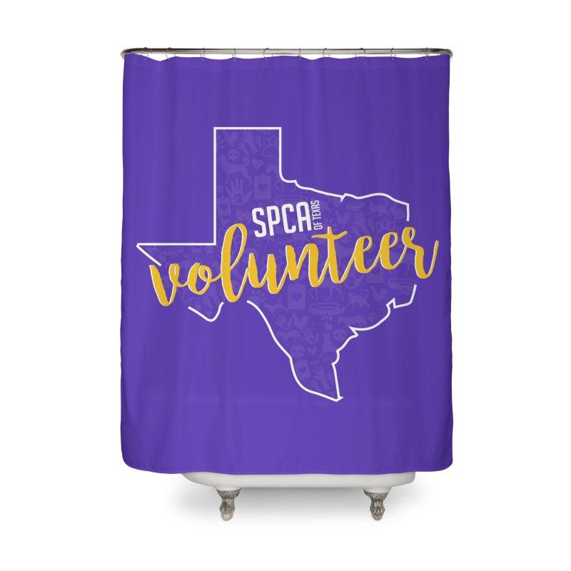 Volunteers Rock! Home Shower Curtain by SPCA of Texas' Artist Shop