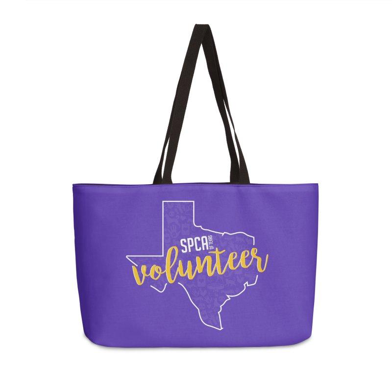 Volunteers Rock! Accessories Weekender Bag Bag by SPCA of Texas' Artist Shop