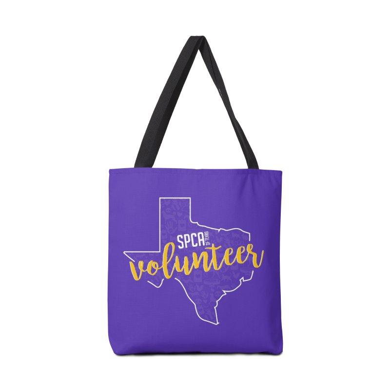 Volunteers Rock! Accessories Tote Bag Bag by SPCA of Texas' Artist Shop