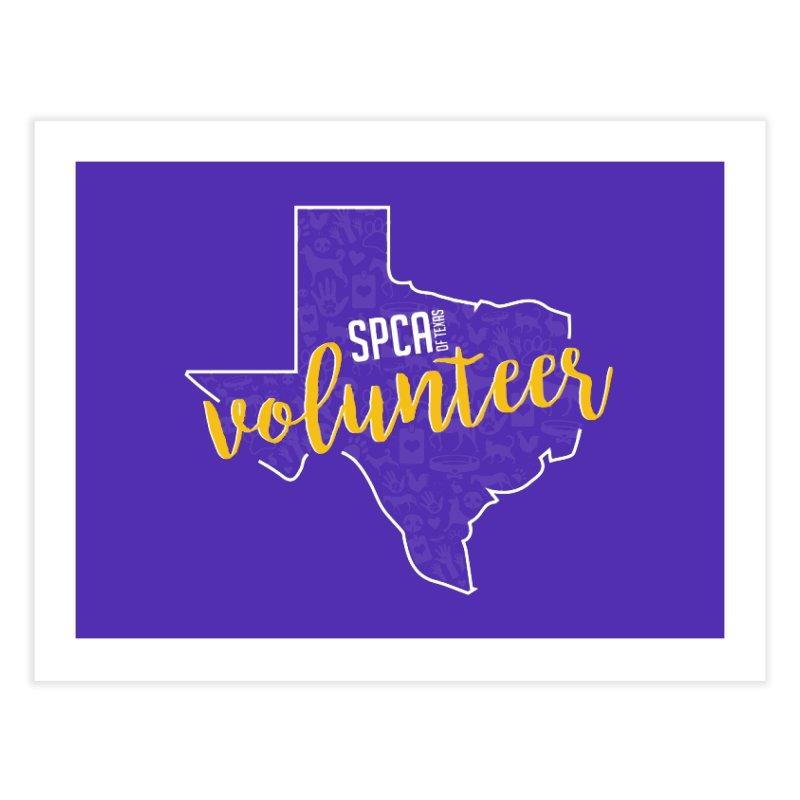 Volunteers Rock! Home Fine Art Print by SPCA of Texas' Artist Shop