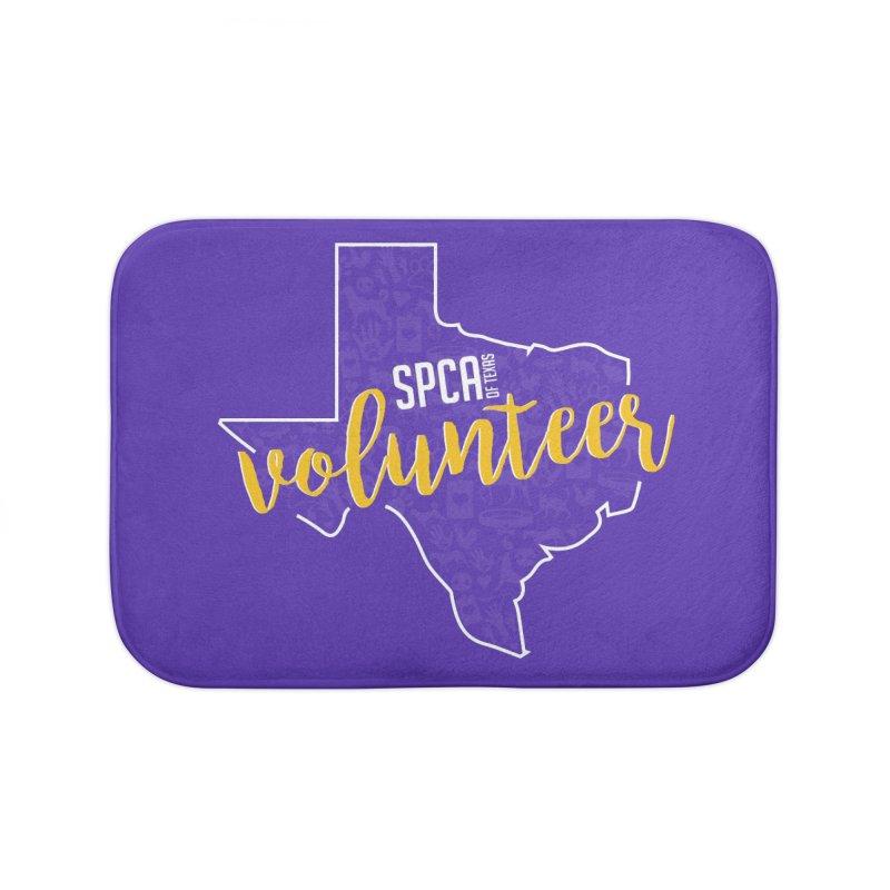 Volunteers Rock! Home Bath Mat by SPCA of Texas' Artist Shop