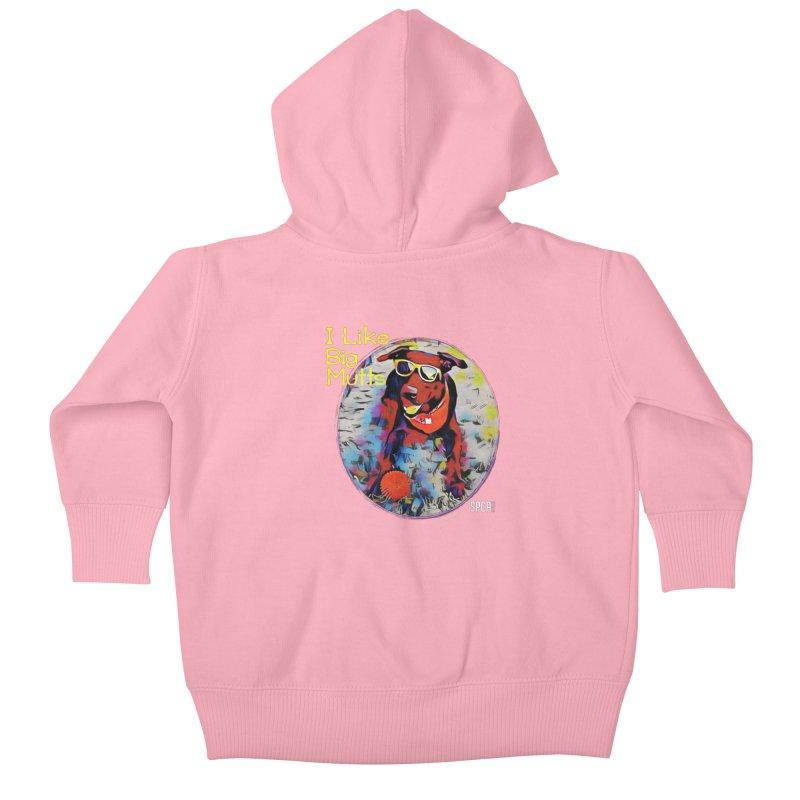 I like Big Mutts Kids Baby Zip-Up Hoody by SPCA of Texas' Artist Shop