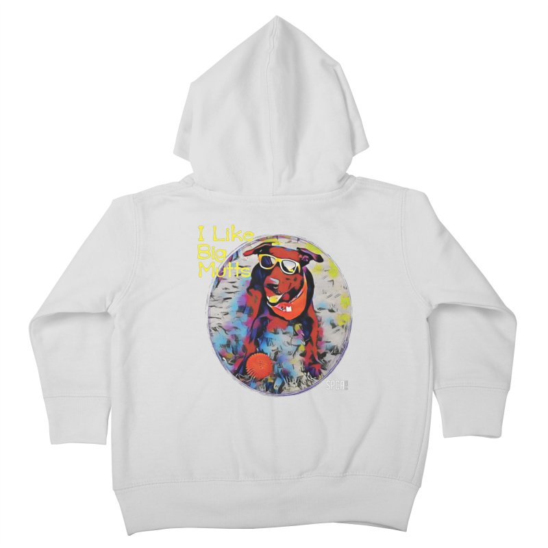 I like Big Mutts Kids Toddler Zip-Up Hoody by SPCA of Texas' Artist Shop