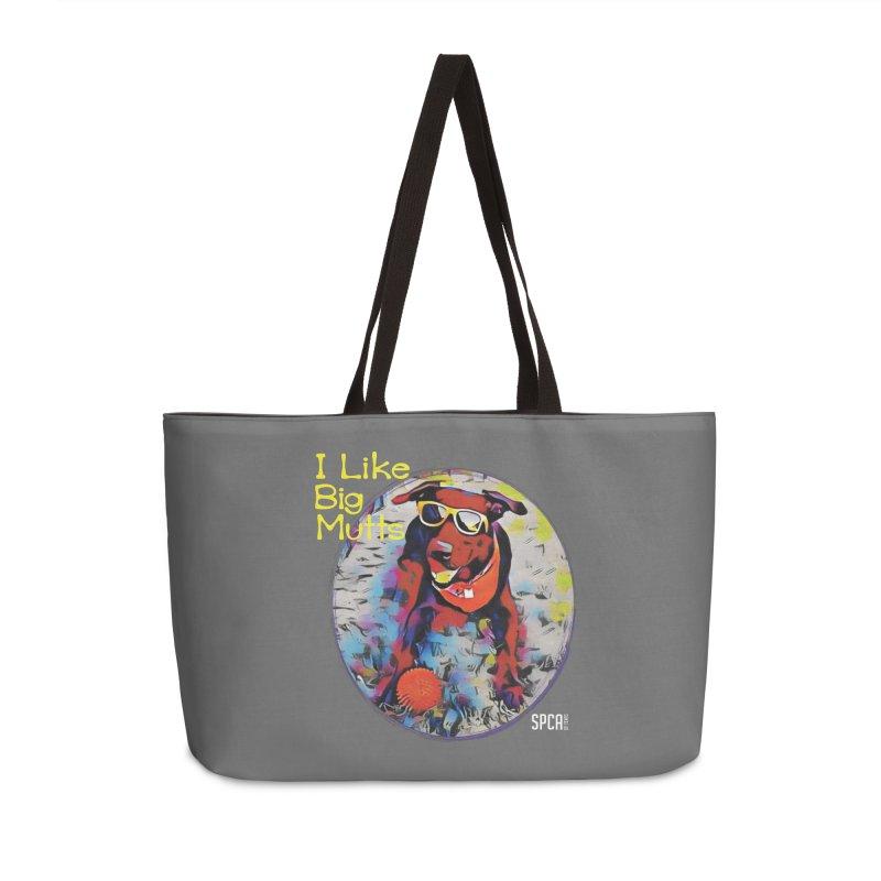 I like Big Mutts Accessories Weekender Bag Bag by SPCA of Texas' Artist Shop