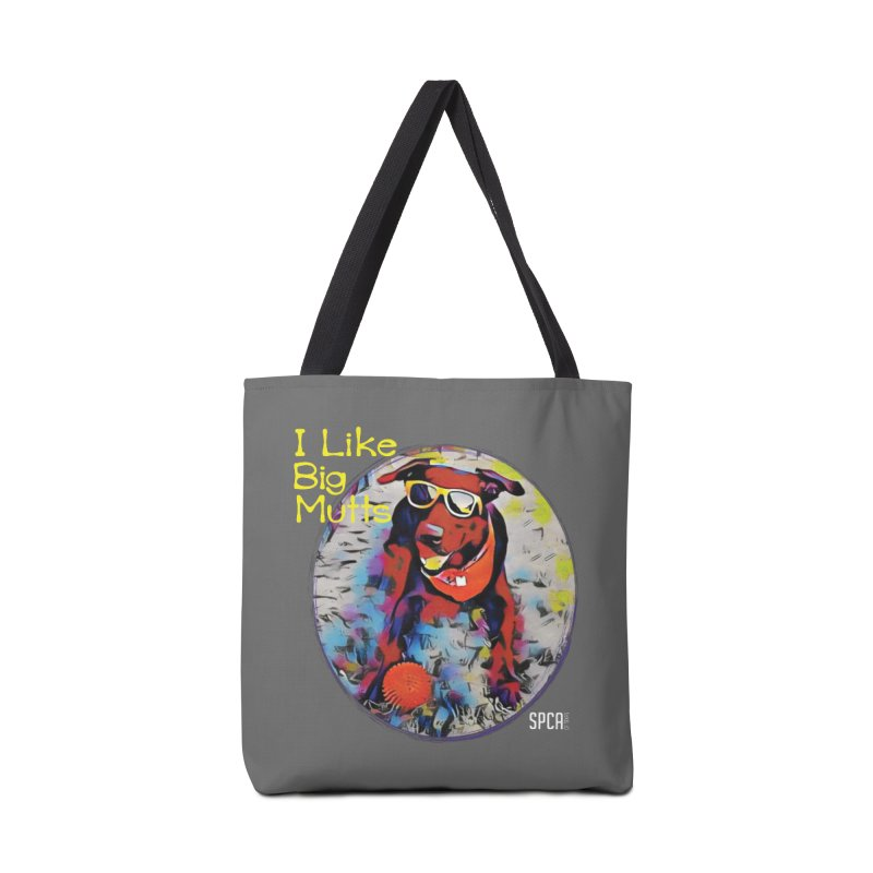I like Big Mutts Accessories Tote Bag Bag by SPCA of Texas' Artist Shop