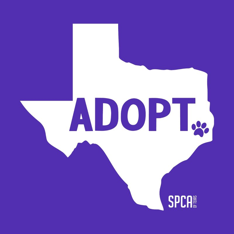 Texas Adopts! Home Throw Pillow by SPCA of Texas' Artist Shop