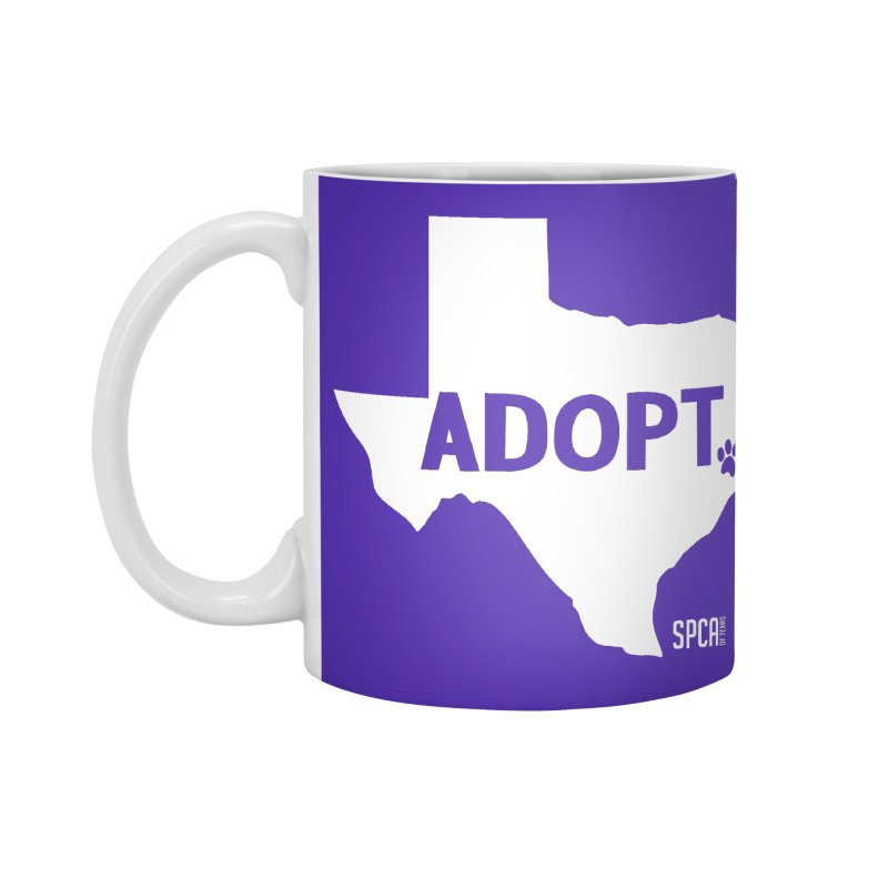 Texas Adopts! Accessories Standard Mug by SPCA of Texas' Artist Shop