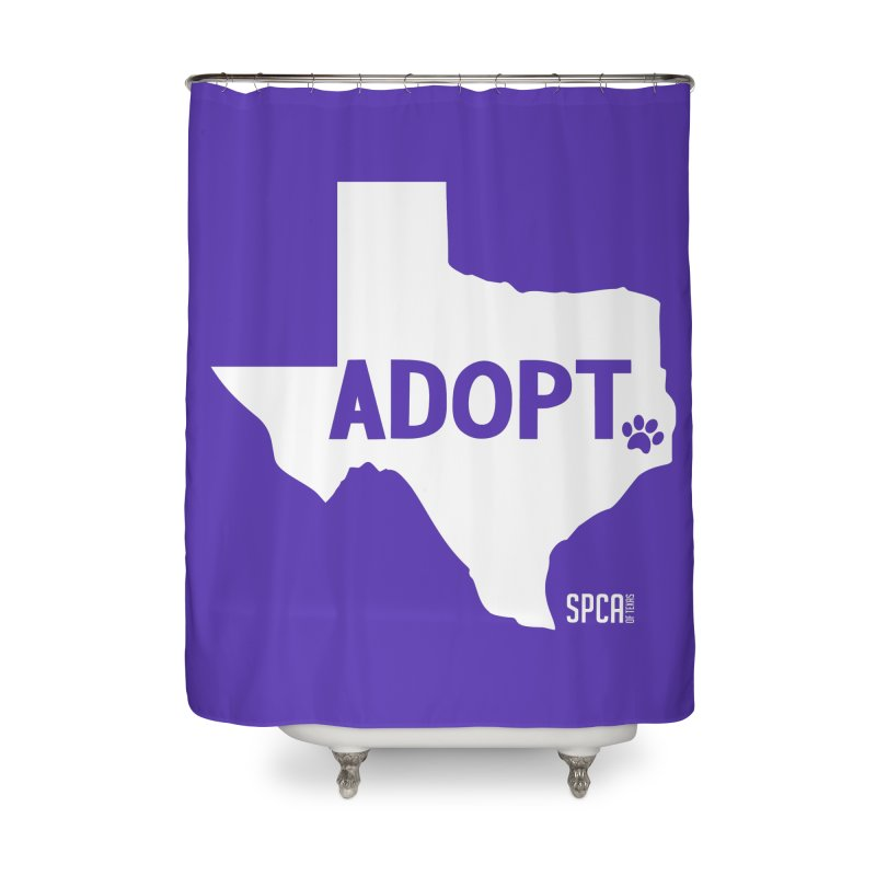 Texas Adopts! Home Shower Curtain by SPCA of Texas' Artist Shop