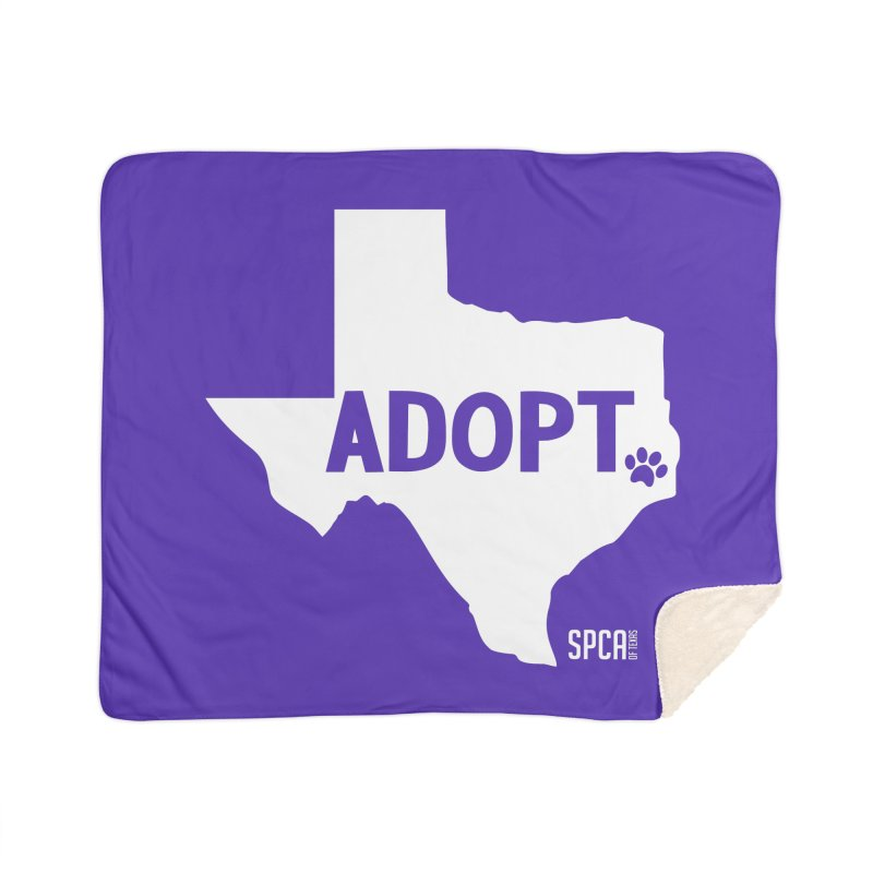 Texas Adopts! Home Blanket by SPCA of Texas' Artist Shop