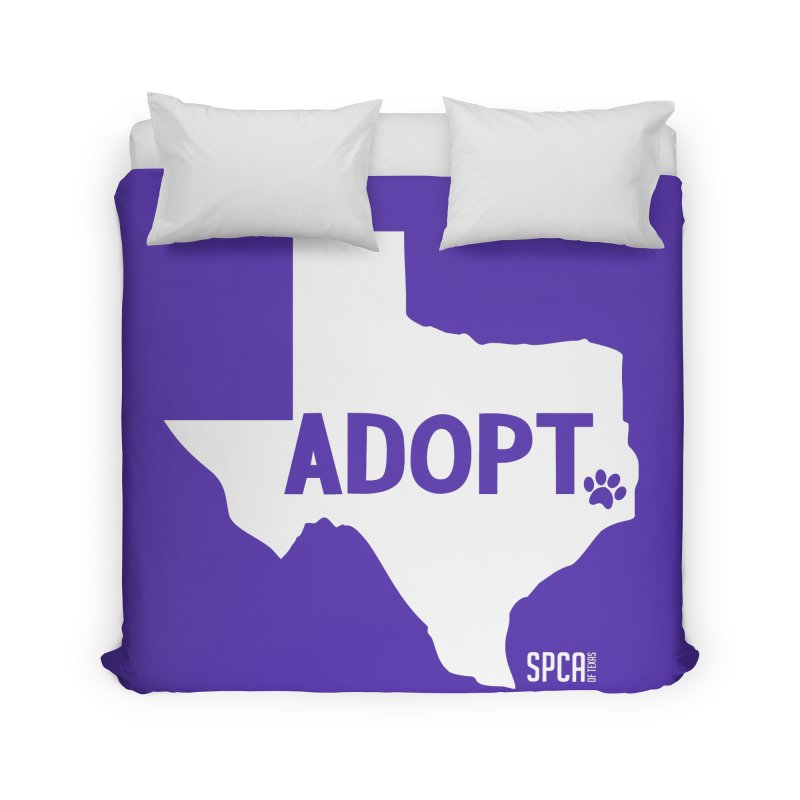 Texas Adopts! Home Duvet by SPCA of Texas' Artist Shop