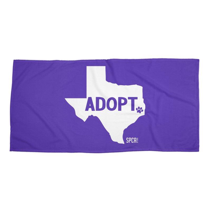 Texas Adopts! Accessories Beach Towel by SPCA of Texas' Artist Shop
