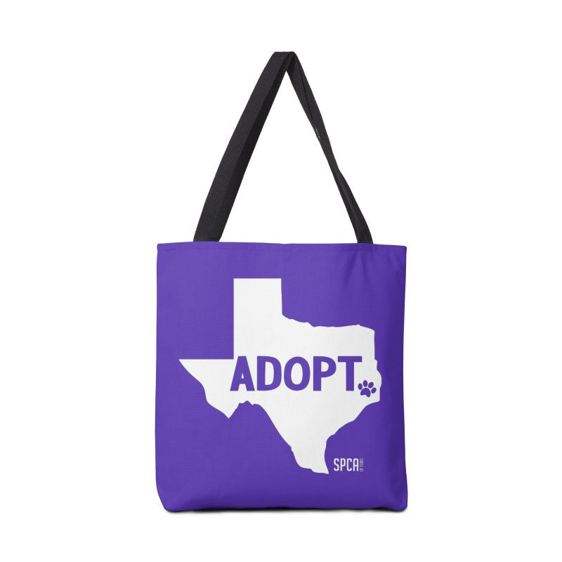 Texas Adopts! Accessories Tote Bag Bag by SPCA of Texas' Artist Shop