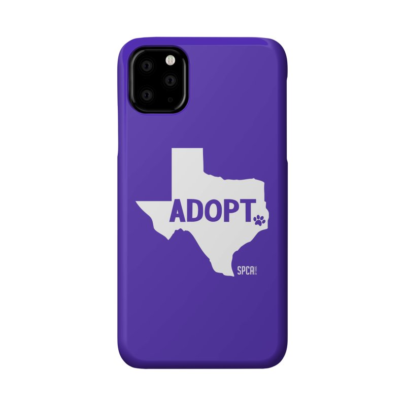 Texas Adopts! Accessories Phone Case by SPCA of Texas' Artist Shop