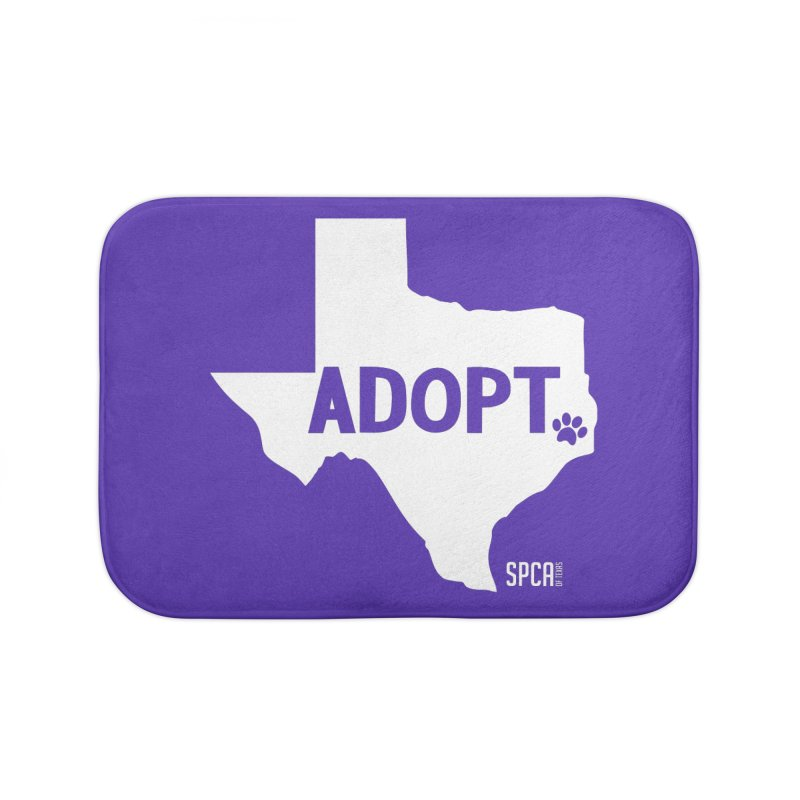 Texas Adopts! Home Bath Mat by SPCA of Texas' Artist Shop