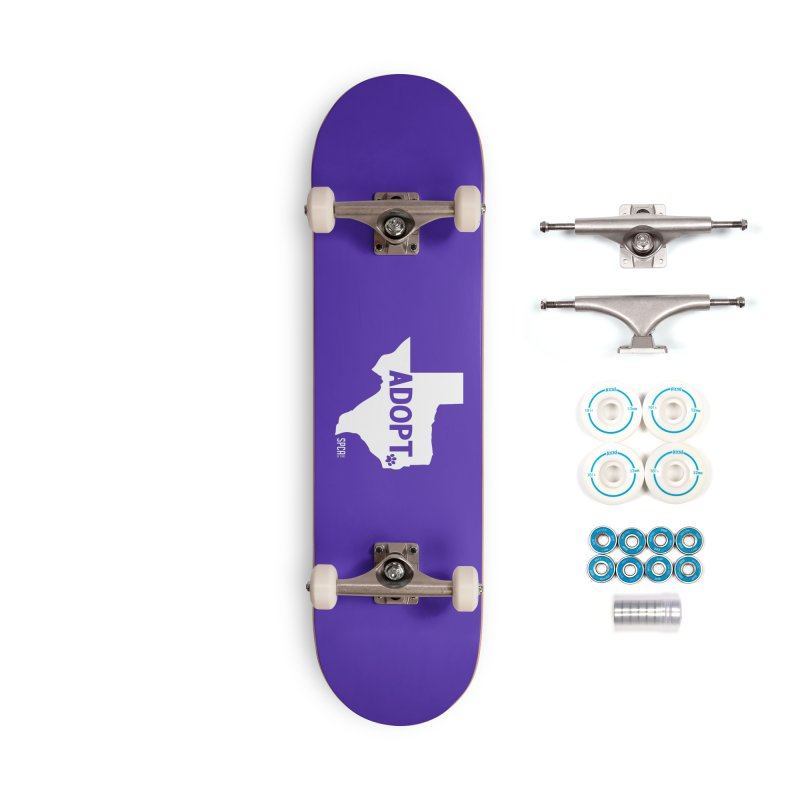 Texas Adopts! Accessories Complete - Basic Skateboard by SPCA of Texas' Artist Shop